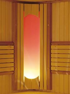 осветление за сауна
