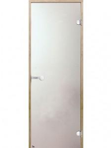 стъклена врата за сауна