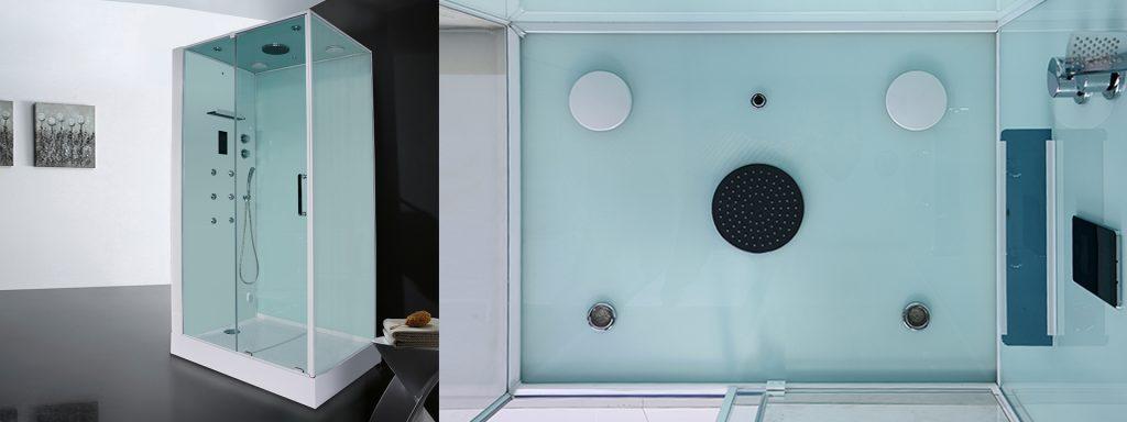 Парна душ кабина с воден масаж