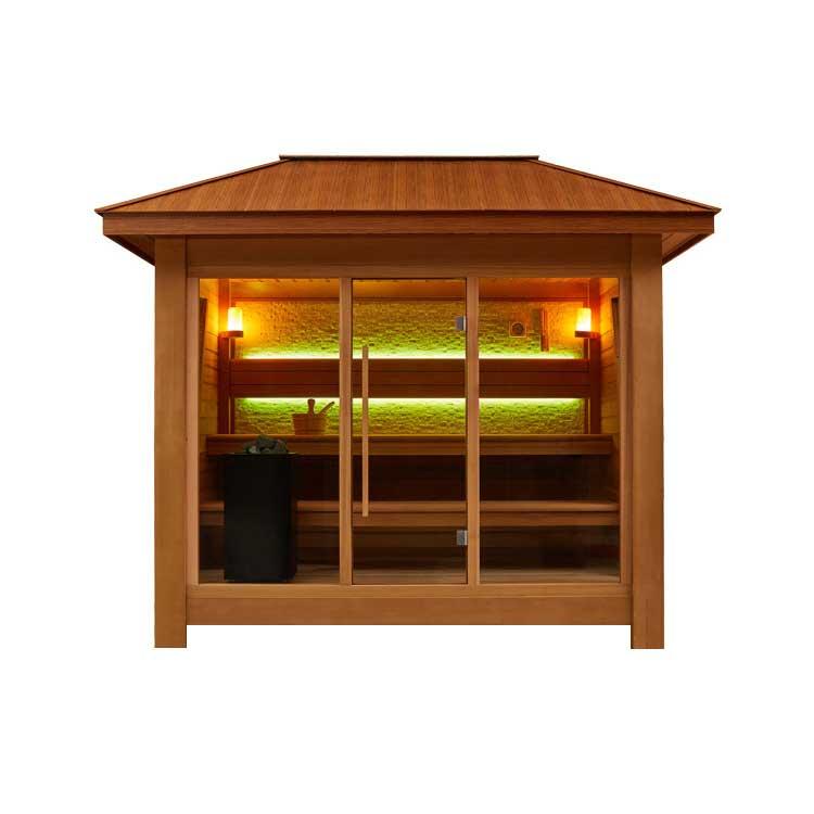 Градински и дворни сауни - външни сауни за двор и градина цени