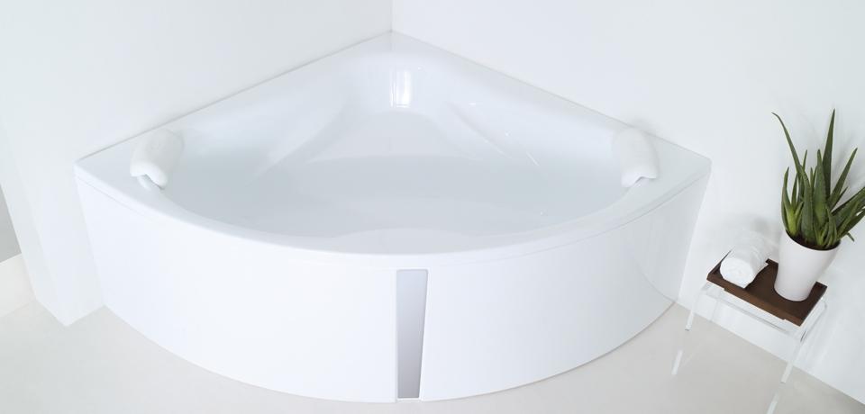 ъглова вана за баня