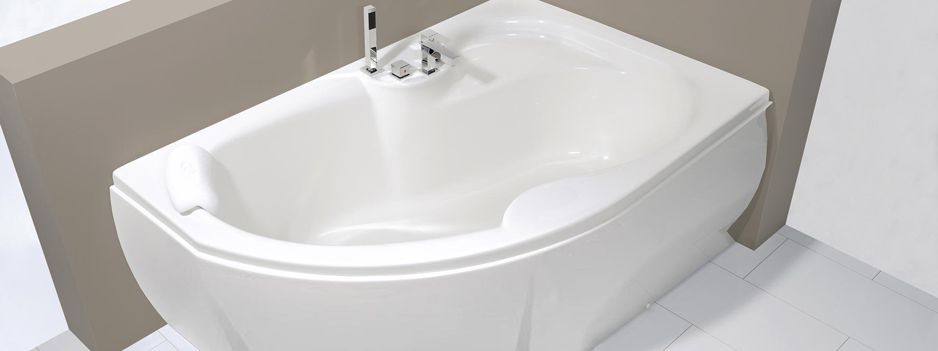 Вани за баня - акрилни вани за баня