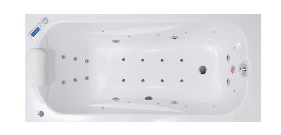 Вана за баня с аеро и хидромасаж