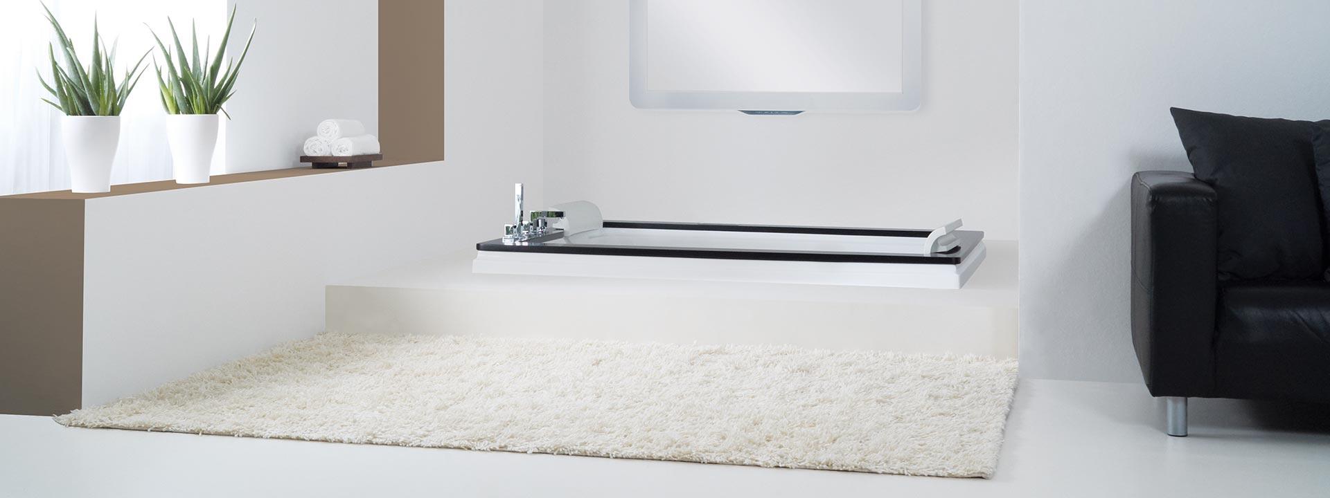 Луксозна вана с хидро и въздушен масаж