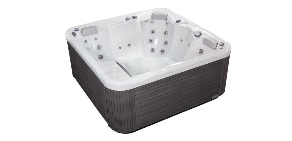 Голямо джакузи за 6 човека - хидпомасажни вани, спа оборудване