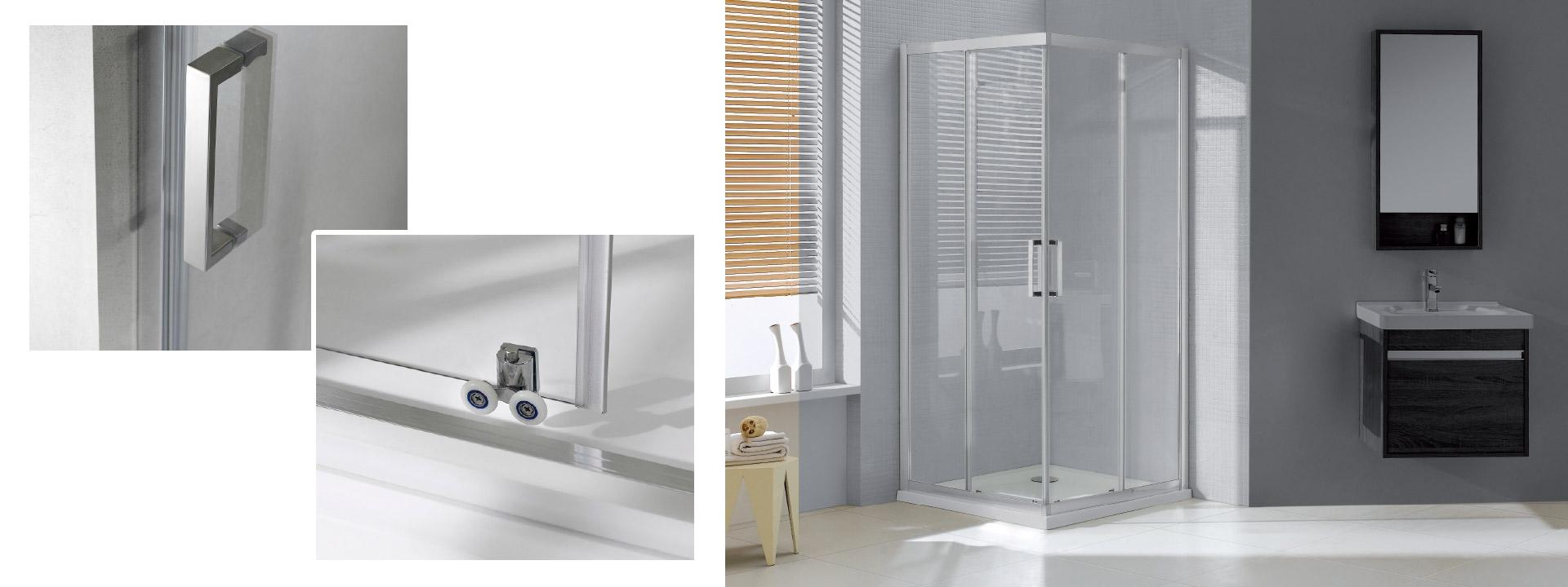 Душ кабина за баня 90х90, оборудване за баня, санитари за баня