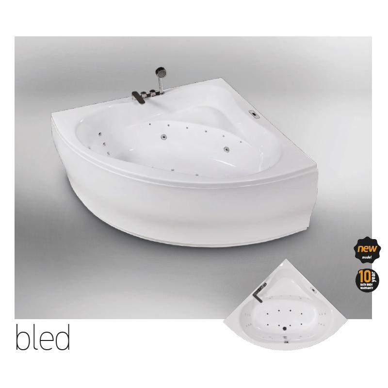 Хидромасажна вана за ъгъл