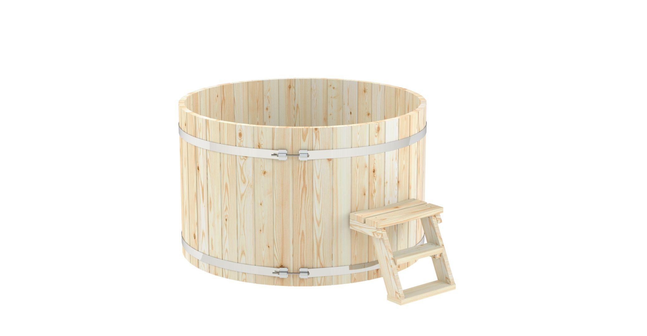 Дървен басейн